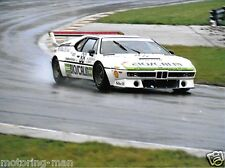 BMW M1 JURGENSEN SOHN GALL DOREN PHOTOGRAPHS 1983 1000KM BRANDS HATCH FOTO