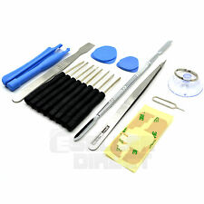 iPhone 4 & 4S - 19-in-1 Cracked Screen & Battery Cover Repair Opening Tool Kit