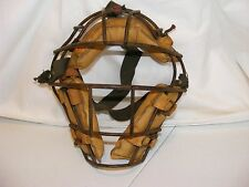 Vintage Leather Wilson Baseball Catchers Mask