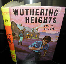 Wuthering Heights, Emily Bronte, Bancroft Classic. 1968. Hardback,