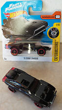Hot Wheels DODGE CHARGER '70 Fast&Furious Nero Serie 2017 EXPERIMOTORS 1/10 1:64