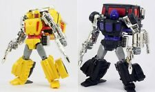 Transformers TFCon 2014 Exclusive X-Transbots - Masterpiece Axis & Shafter Set!