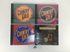 Lot of 4 CD'S COUNTRY GOLD VOLUMES  2 3 & 4 OLD TIME BARN DANCE J5