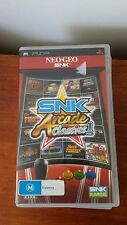 SNK Arcade Classics Volume 1 (Sony Playstation Portable, PSP) 16 Games Complete