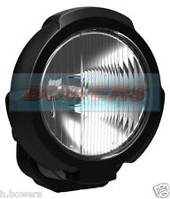 "SIM 3229 12V/24V 7"" INCH BLACK ROUND HALOGEN DRIVING SPOTLIGHT SPOTLAMP 4x4 CAR"