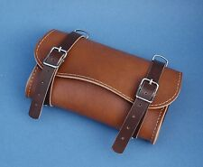 NEW Bag tools brown bicolor for saddle in synthetic leather  vintage bike
