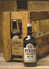 Publicité Advertising 1979  BYRRH aux vins vieux