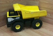 Vintage Tonka Yellow & Black Dump Truck Pressed Steel Toy Truck Only **READ**