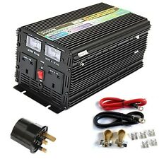 2000W/4000W (Peak) DC12V POWER INVERTER, SOFT START, VOLTAGE DISPLAY + ADAPTOR