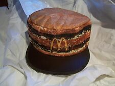 Vintage McDonalds Big Mac Painters Cap