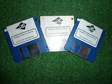 3 Commodore Amiga CBM A500 > jeux hiver olympiade + mission suicide & secondes hors
