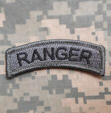 RANGER TAB TACTICAL USA ARMY INFIDEL ACU DARK VELCRO® BRAND FASTENER PATCH