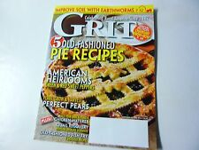 GRIT Magazine - September/October 2016 - Old-Fashioned Pie Recipes