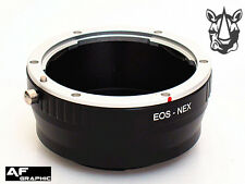 AD1u Canon EOS EF EFS Lens Adapter Ring to Sony E Mount Alpha A7 A7S A7R Mark II