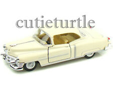 Kinsmart 1953 Cadillac Series 62 Coupe 1:43 Diecast Toy Car Cream