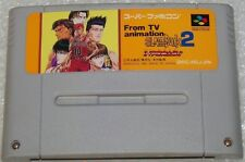 Slam Dunk 2 IH Yosen Kanzenban!! From Tv ANIMATION SUPER FAMICOM NINTENDO 237