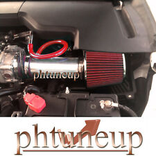 RED 2008-2012 HONDA ACCORD CROSSTOUR EX 3.5 3.5L V6 AIR INTAKE KIT SYSTEMS