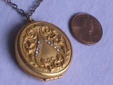 Old Vintage Photo Locket Pendant Jewelry (id509)
