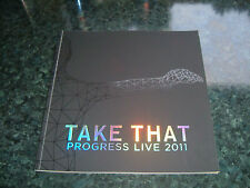 TAKE THAT/PROGRESS TOUR PROGRAMME NEW MINT CONDITION