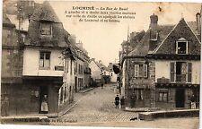 CPA  Locminé - La Rue de Baud - a gauche et ádroite eux vieilles    (206161)