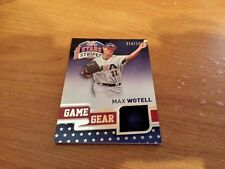 2015 Panini USA Stars and Stripes Game Gear Max Wotell #73 218/299 Jersey Card