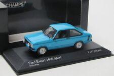 Ford Escort II 1600 Sport ( 1975 ) blau / Minichamps 1:43