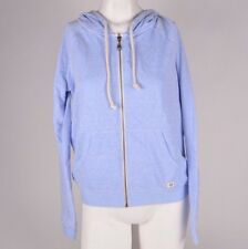 2016 NWT WOMENS BILLABONG EASY STREET ZIP UP HOODIE SWEATER $50 M chambray