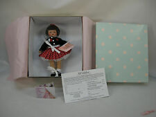 "MADAME ALEXANDER  WENDY 8"" MADC 2005 FALL FRIENDSHIP LUNCHEON SOUVENIR DOLL NRFB"