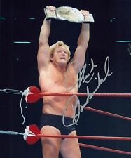 NICK BOCKWINKEL NWA AWA WWE SIGNED AUTOGRAPH 8X10 PHOTO W/ PROOF