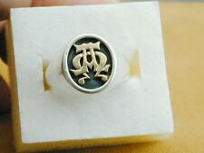James Avery 14k Sterling Alpha Omega Ring 11.5 Gorgeous