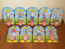 Moshi Moshlings 27-Lot (9 DIFFERENT 3-Packs) Monsters Series-1 Figures **NEW**