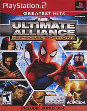 Marvel: Ultimate Alliance -- Special Edition Greatest Hits (Sony PlayStation 2)