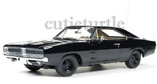 Autoworld 1969 Dodge Charger Happy Birthday General Lee 1:18 Awss110 Black