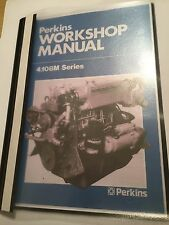 PERKINS 4.108M 4.107 M & 4.99M MARINE DIESEL ENGINE WORKSHOP REPAIR MANUAL 1982