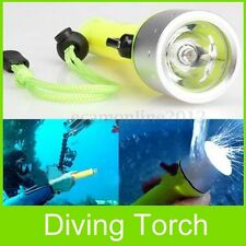 2000LM 5m LED Linterna Buceo Lámpara Submarinismo Flashlight Diving Sumergible