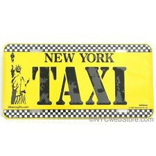 New York Taxi License Plate Souvenir from NYC Online Gift Store