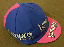 Retro Lampre Pro Cycling Team cap (Flat Postage Rate)