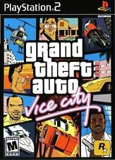 Grand Theft Auto: Vice City [PlayStation 2 PS2, NTSC, GTA Shooting Driving] NEW