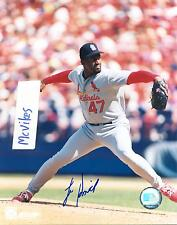 Lee Smith St. Louis Cardinals Autographed Signed 8x10 Photo COA