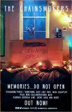 THE CHAINSMOKERS Memories Do Not Open 2017 Ltd Ed RARE Posters +FREE Pop Poster!