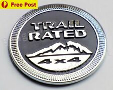 JEEP Trail Rated 4x4 Badge Emblem Grand Cherokee Wrangler Renegade Compass