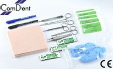 Suture Training Kit Pro Quality For Vets Medical Student Nurse Suture Practice