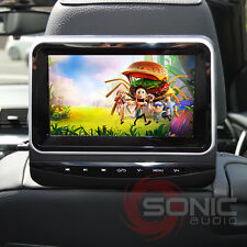 "Universal Clip-On Plug-Play Car DVD/SD/USB 7"" HD Headrest Screen Monitor Tablet"