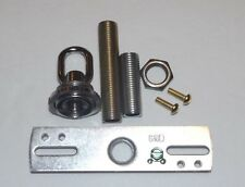 NICKEL PLATED SCREW COLLAR CANOPY HARDWARE SET LAMP PART NEW 10933NJB