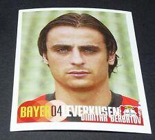 293 BERBATOV BAYER 04 LEVERKUSEN PANINI FUSSBALL 2002-2003 BUNDESLIGA FOOTBALL