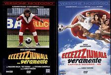 ECCEZZZIUNALE VERAMENTE 1 + 2 - DVD NUOVI E SIGILLATI, RARO.