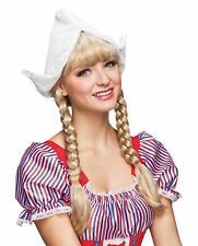 DUTCH GIRL HAT NEW STYLE FANCY DRESS COSTUME ACCESSORY
