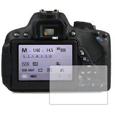 3 X Schermo copre PROTEZIONI Pellicole per CANON EOS 700D (Rebel T5i) - Accessorio per Fotocamera