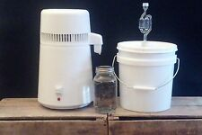 Easy Electric Countertop Alcohol Distiller Moonshine Whiskey Vodka Still