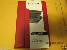 M-EDGE INCLINE JACKET FOLIO STAND / CASE FOR KINDLE FIRE -RED- FREE SHIPPING